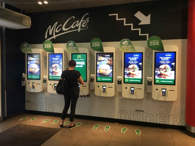 McDonald's New Self-Ordering Kiosks Ring the Death Knell for