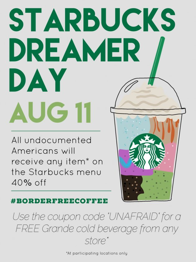 Fake Starbucks Ad Tries to Lure the Undocumented With