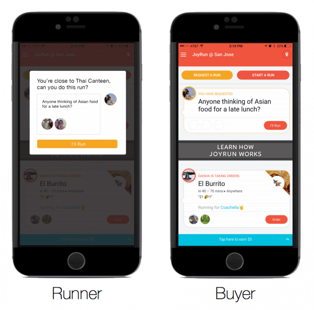 JoyRun Is a New On-Demand Delivery App, Currently Just at