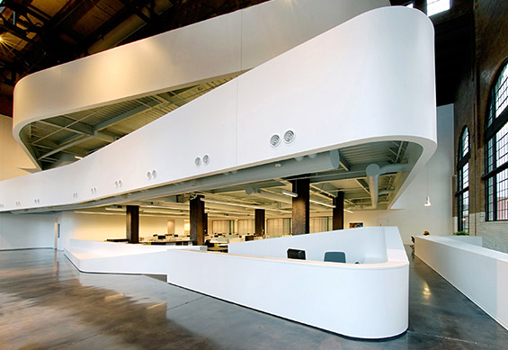 Beautiful COOLEST CONVERTED OFFICE SPACES From A Derelict Barn To An Airy Design  Studio; From A Vintage City Utility Headquarters To A LEED Certified Office  Gallery.